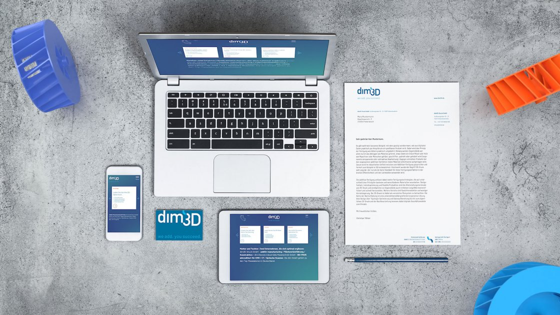 1903_dim3d_MockUp Corporate Design